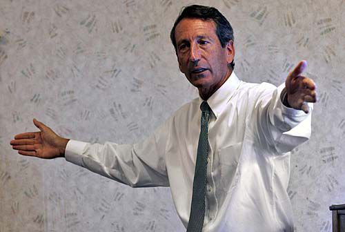Business leaders fret over Sanford