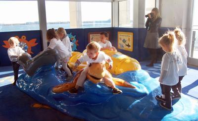 South Carolina Aquarium Kids Coast toddler play area