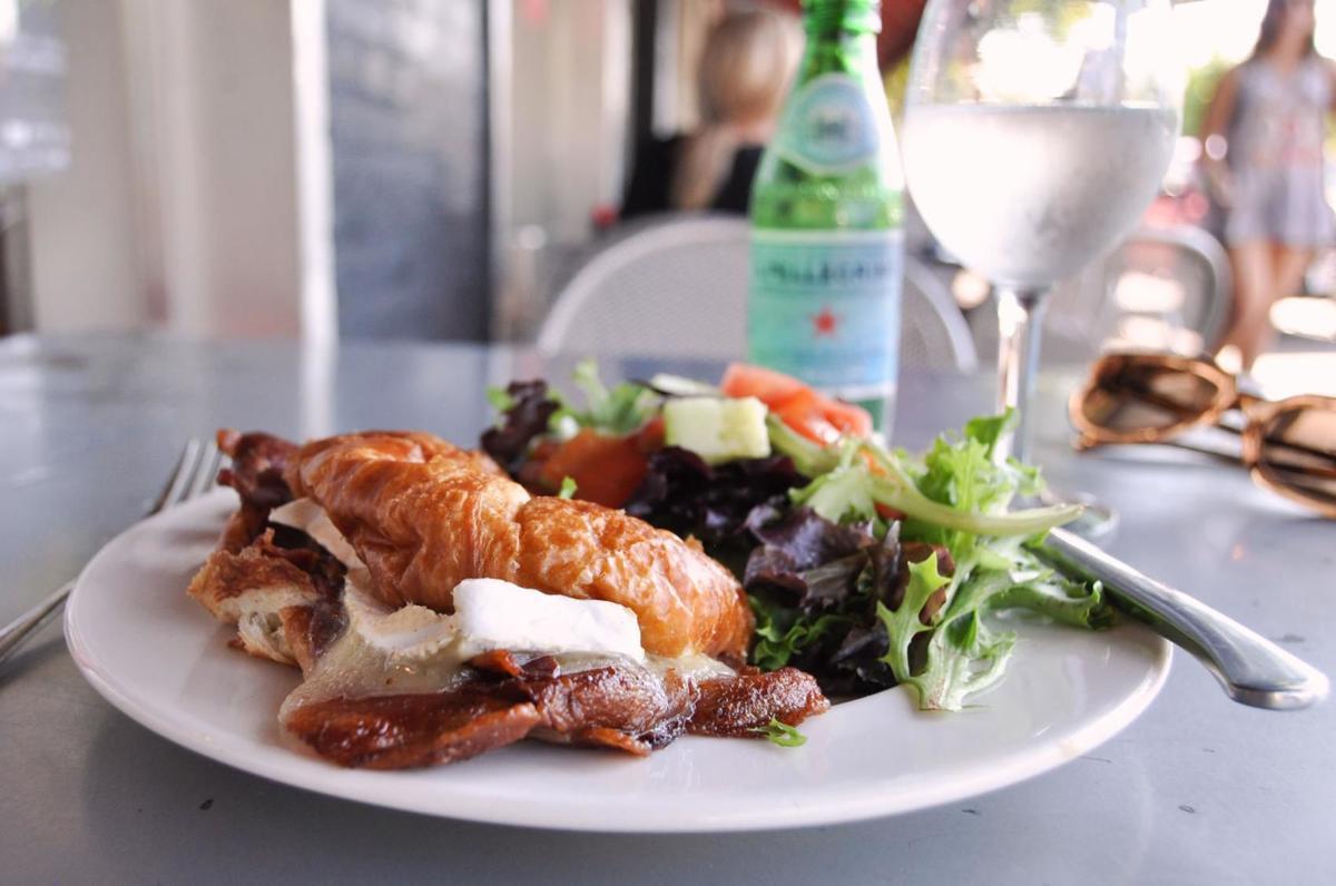 The Gourmet Shop brie bacon croissant