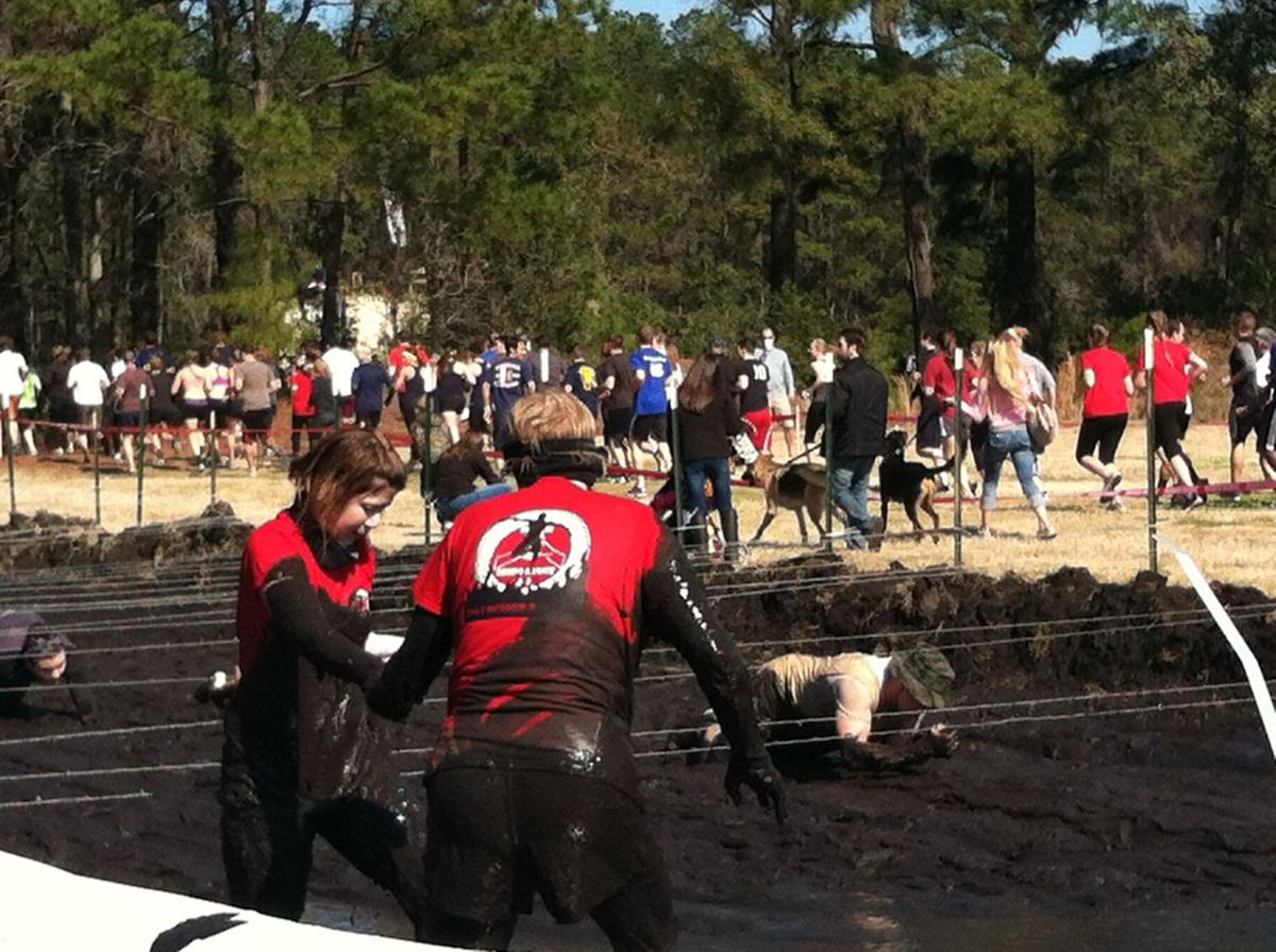 Rugged maniacs swarm Boone Hall for mud-filled fun