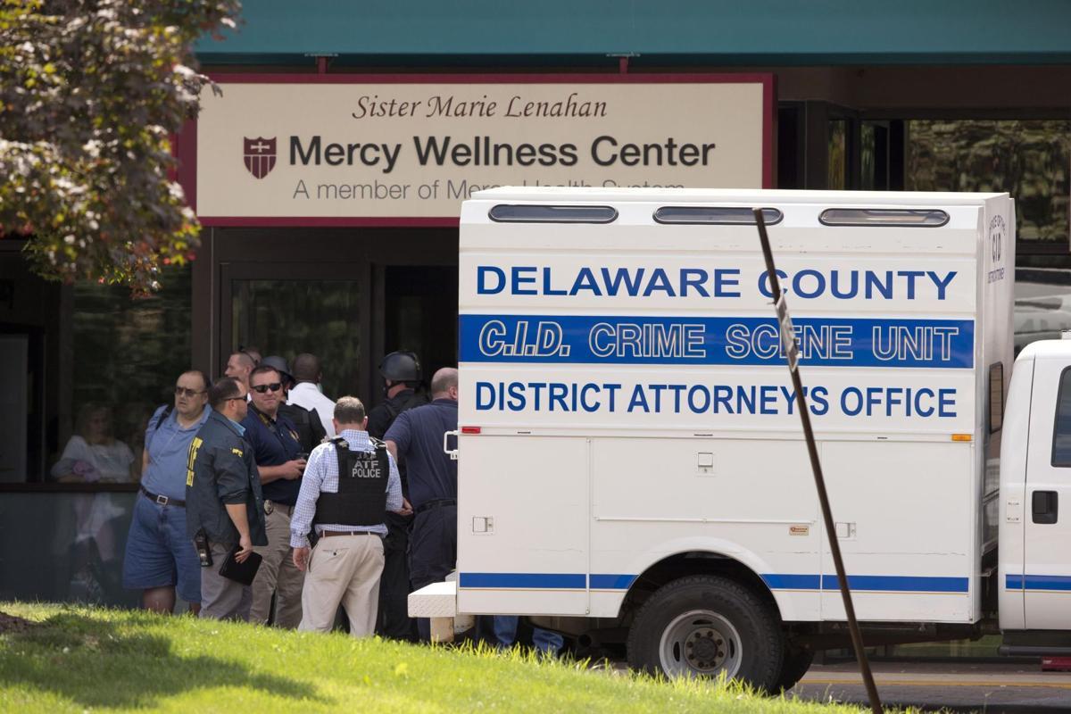 Hospital shooting suspect had history of violence
