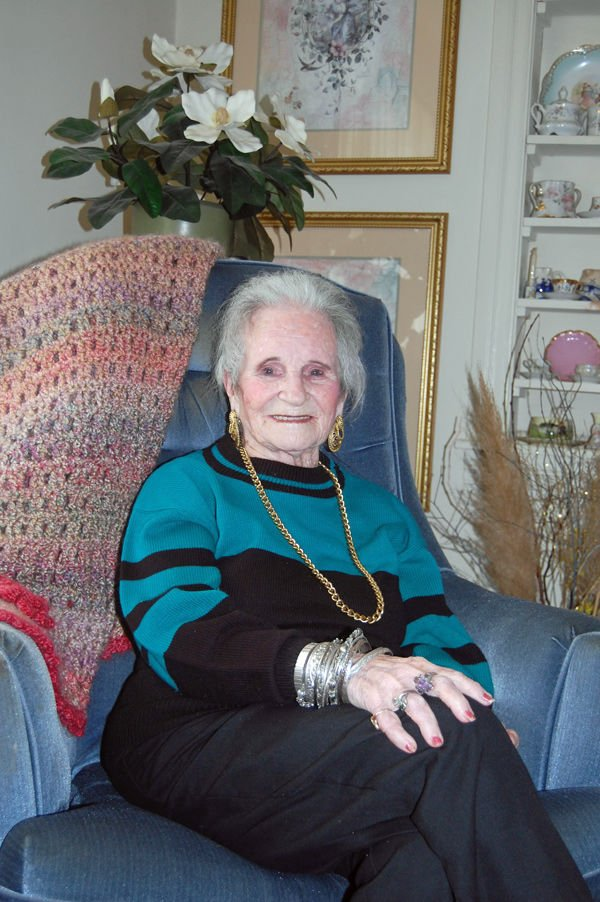Centenarian misses playing keyboard at churches, events