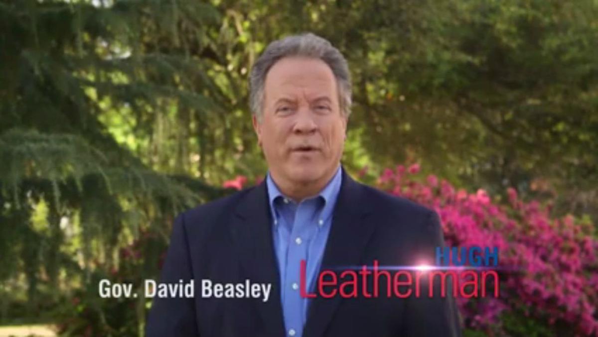 Former Gov. Beasley endorses Leatherman