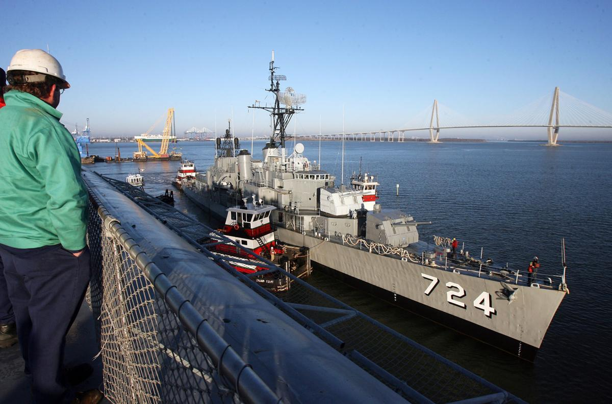 The Laffey Returns to Patriots Point