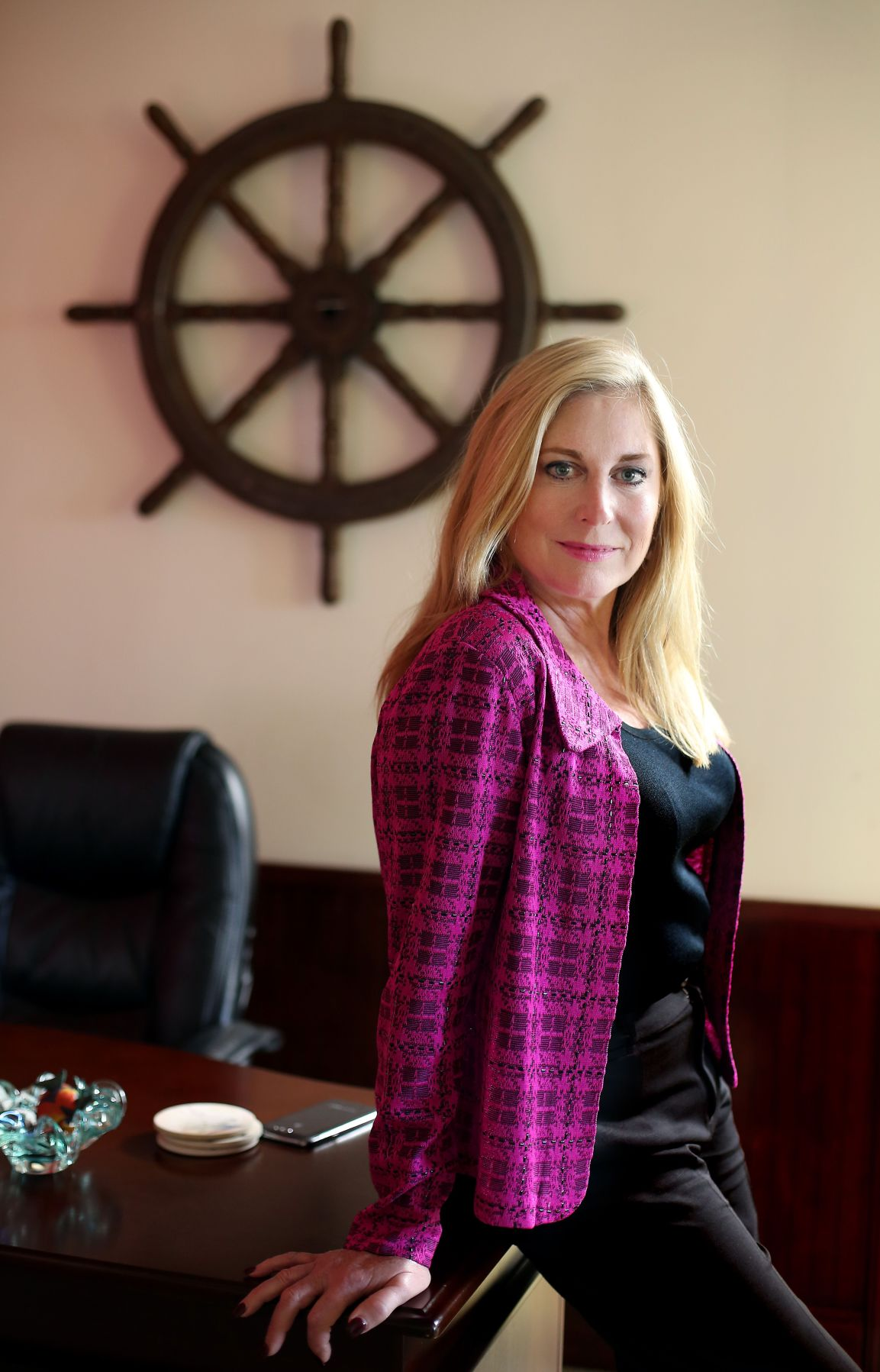 Local businesswoman making the world safer
