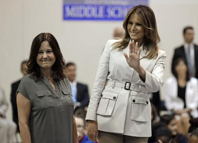 First lady Melania Trump and VP wife Karen Pence to visit Charleston, SC on Wednesday