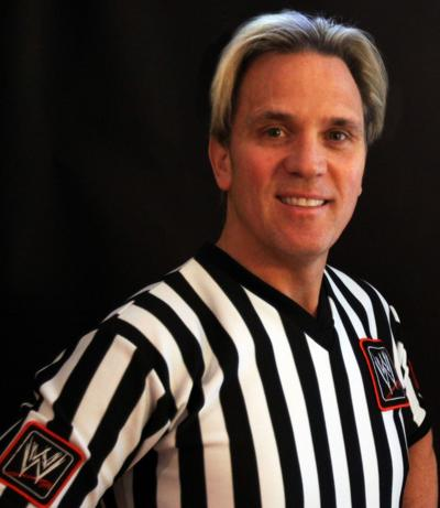 WWE ref Charles Robinson living the dream