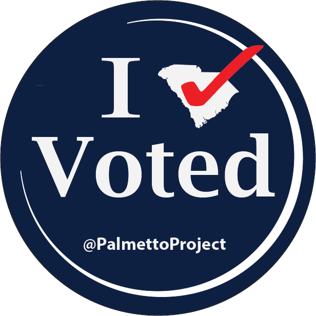 image relating to I Voted Stickers Printable known as For South Carolina, a fresh style for its legendary I Voted