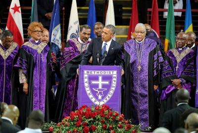 Obama singing Amazing Grace (copy)