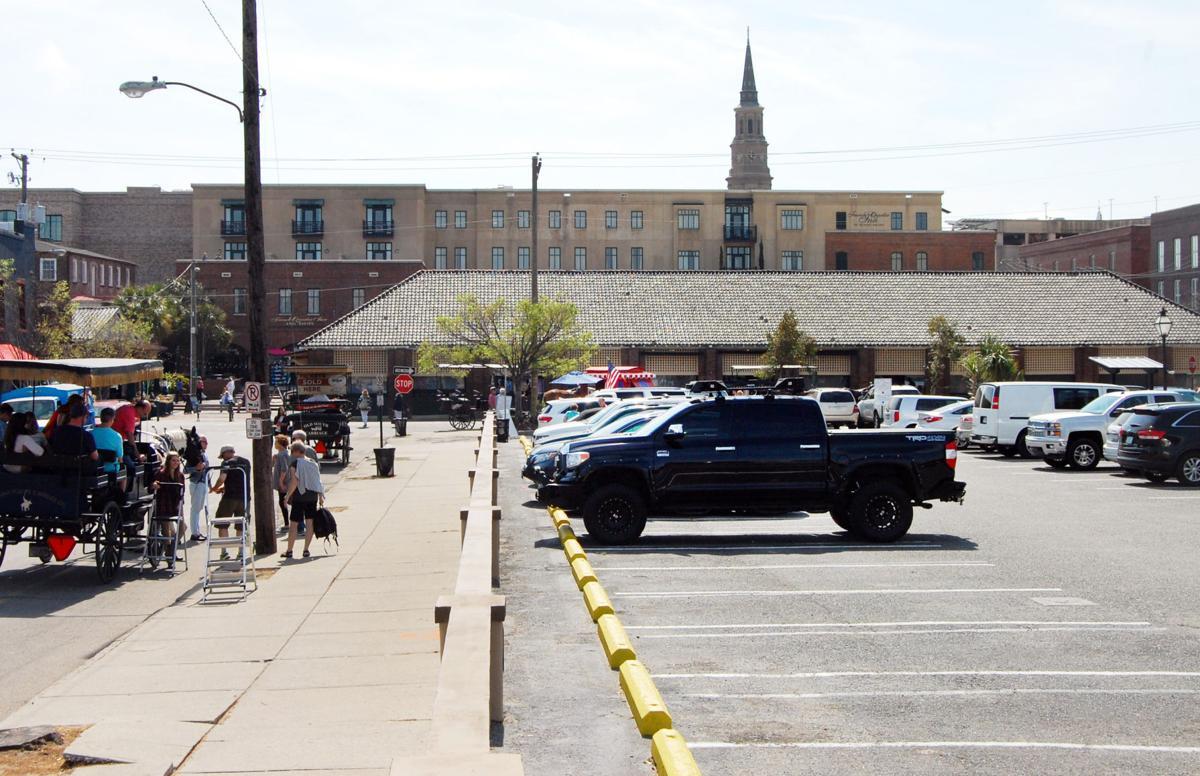 Anson Street parking lot hotel site