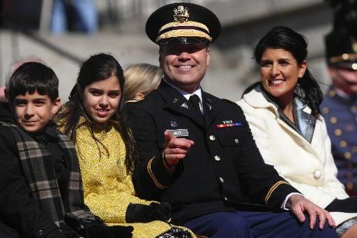 APNewsBreak: Gov. Haley's husband going to Afghanistan