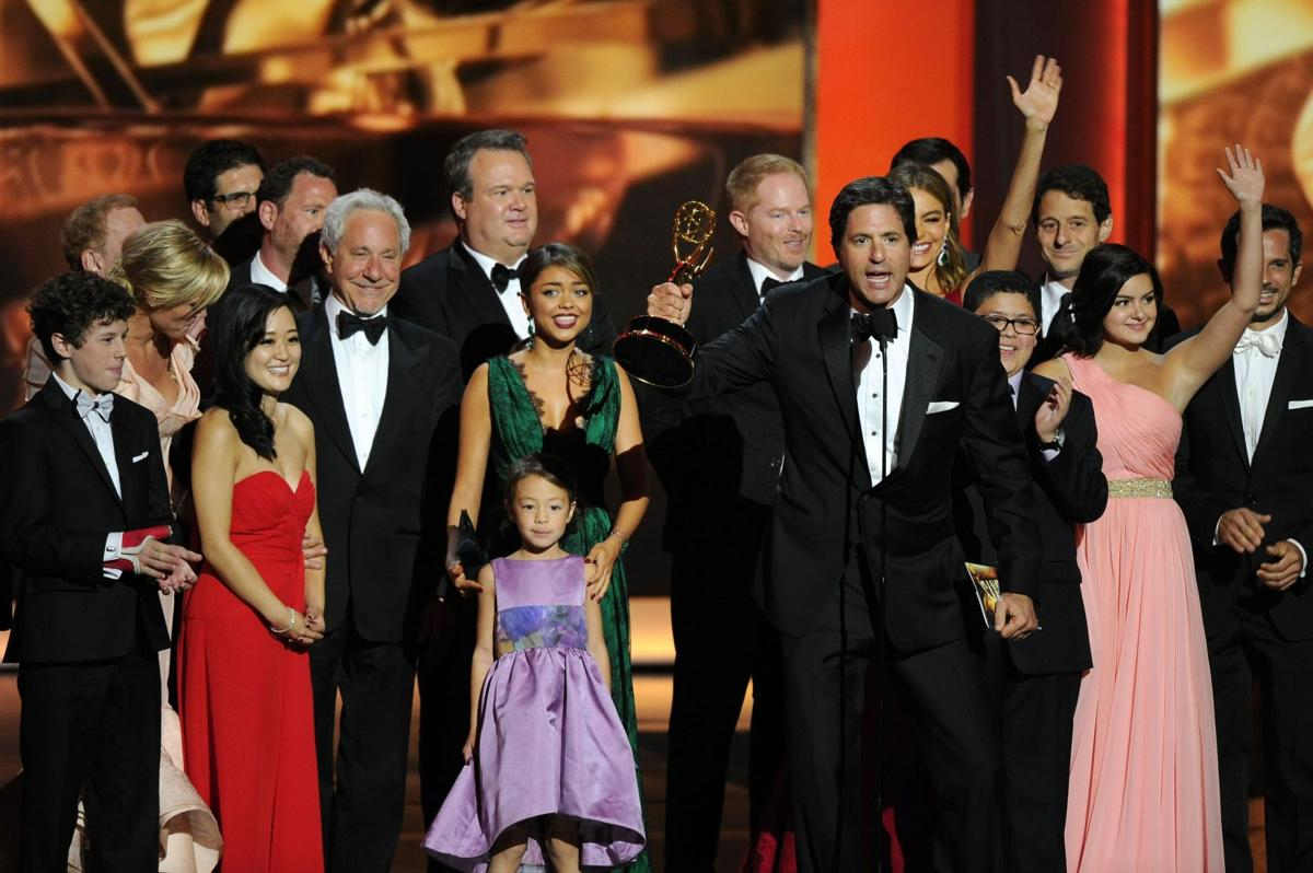'Breaking Bad' and 'Modern Family' win big at Emmys