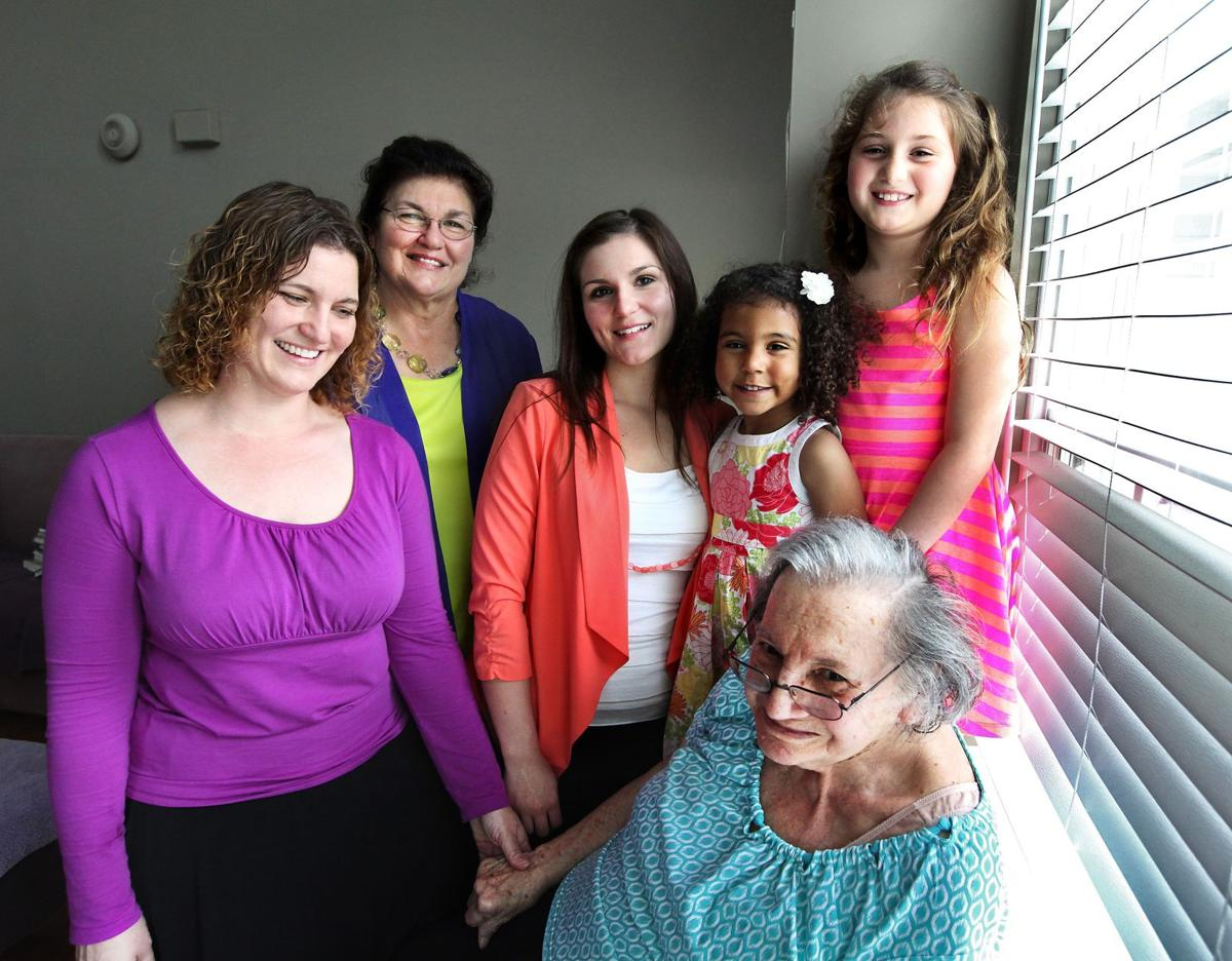 Five generations of women create bonds through faith and motherhood