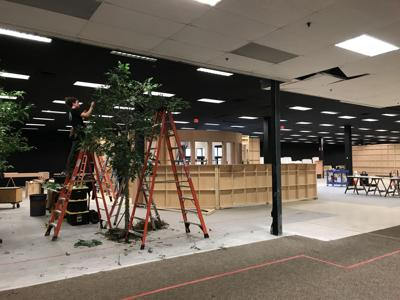 Righteous Gemstones movie set being made in former Sears at Citadel Mall (copy)