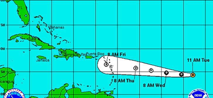 Grace weakens to tropical depression