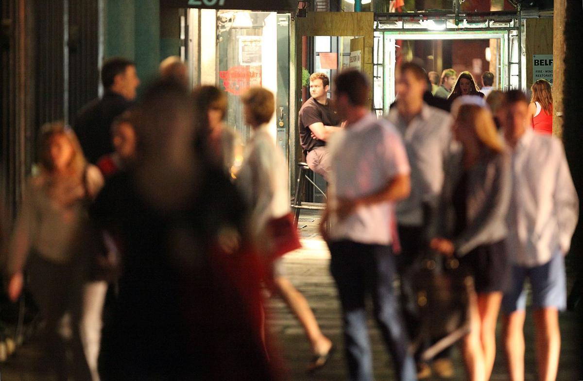 Rowdy bar scene needs police