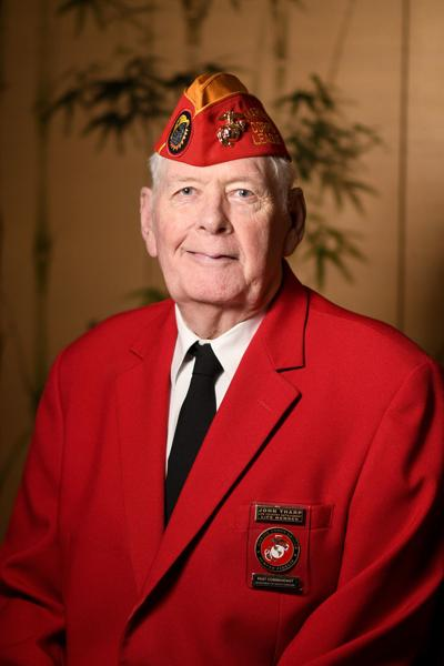 Retired Marine served air, ground, and sea