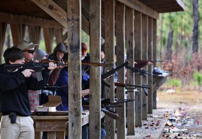 Twin Ponds shooting range reconstruction underway