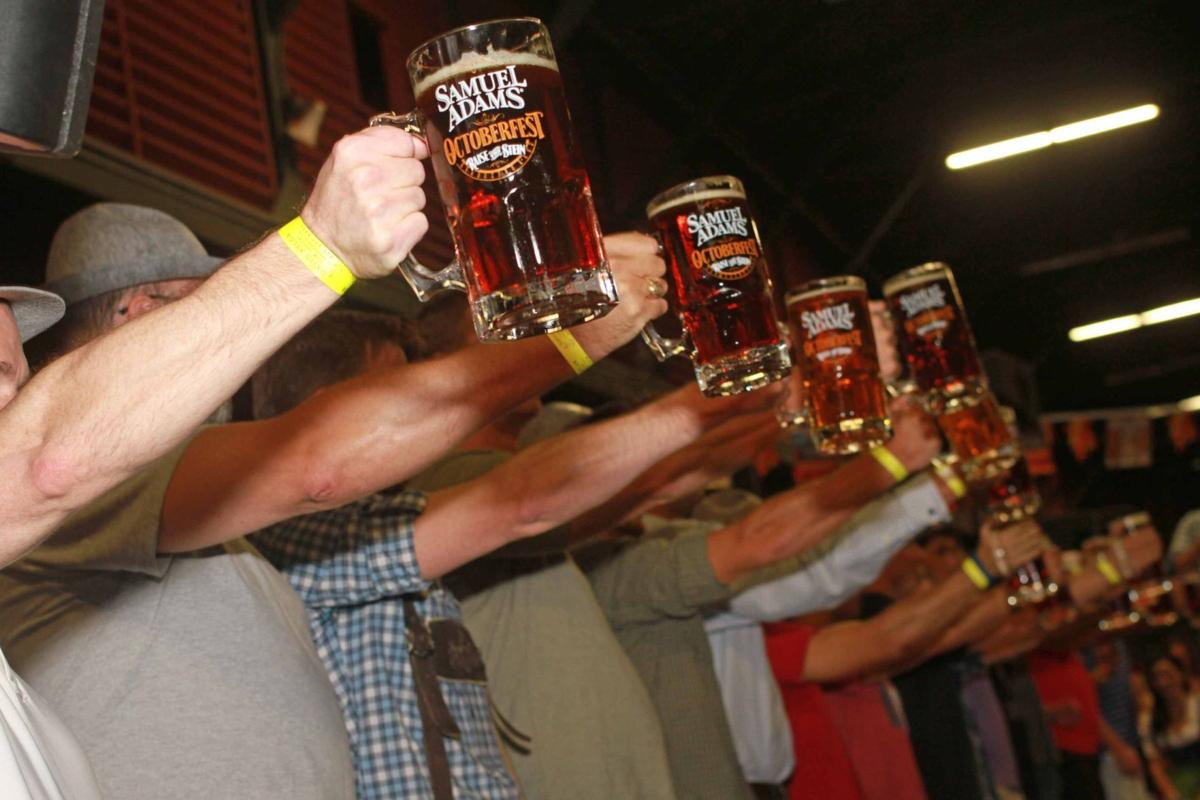 Celebrate the month of beer a little early at the Sam Adams Oktoberfest this weekend