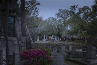 Magnolia Cemetery evening tour