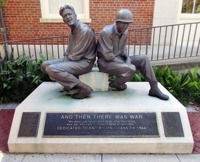 Clemson World War II statue