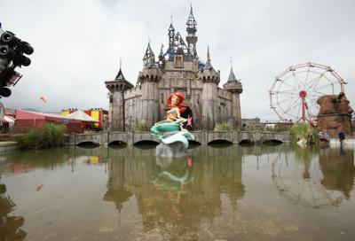 Dismaland a hit in Britain Banksy theme park brings $30M to depressed UK town