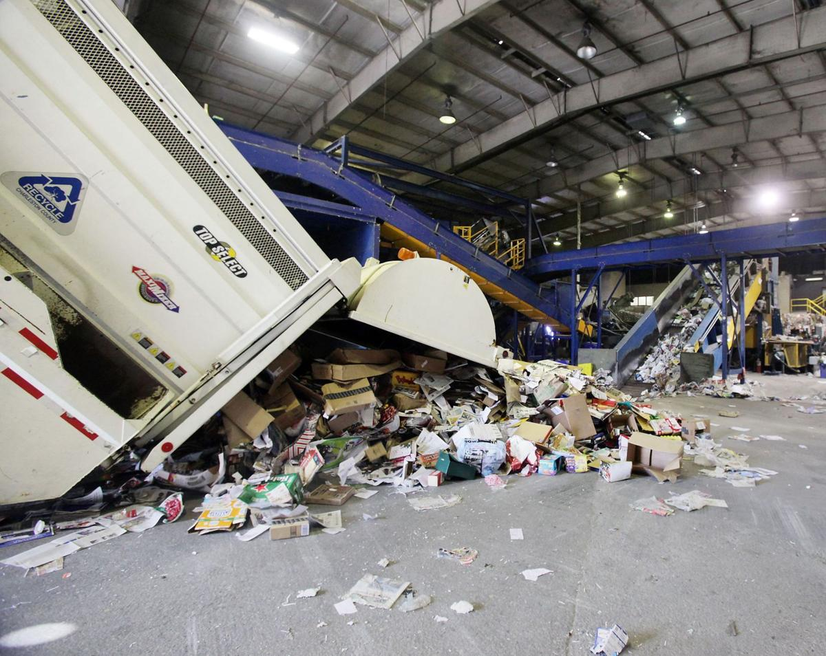 Future of Charleston County's plan to truck recyclables to Horry County uncertain
