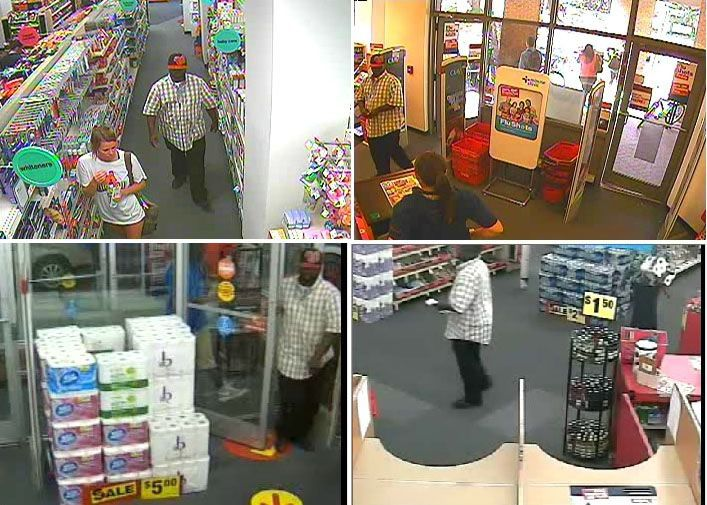 Charleston police trying to identify suspect in stolen credit card case