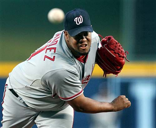 Nationals blank Braves