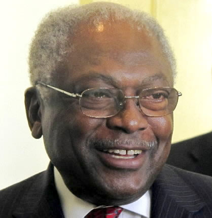 Clyburn at odds with fellow Democrats