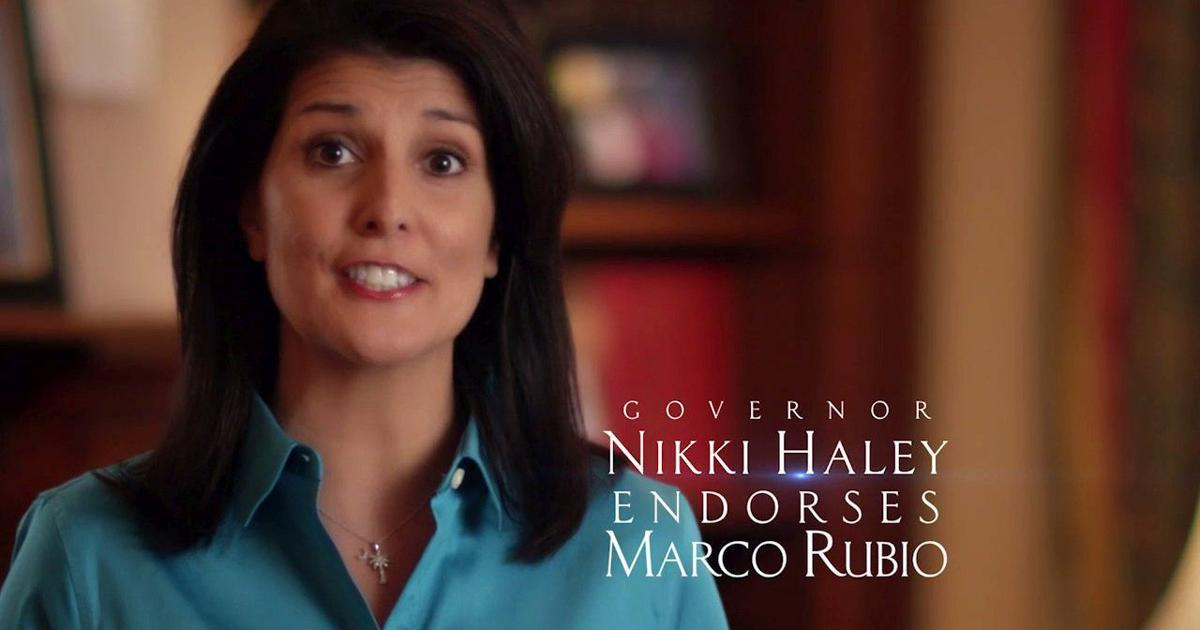 Marco Rubio's campaign releases new ad featuring Gov. Nikki Haley