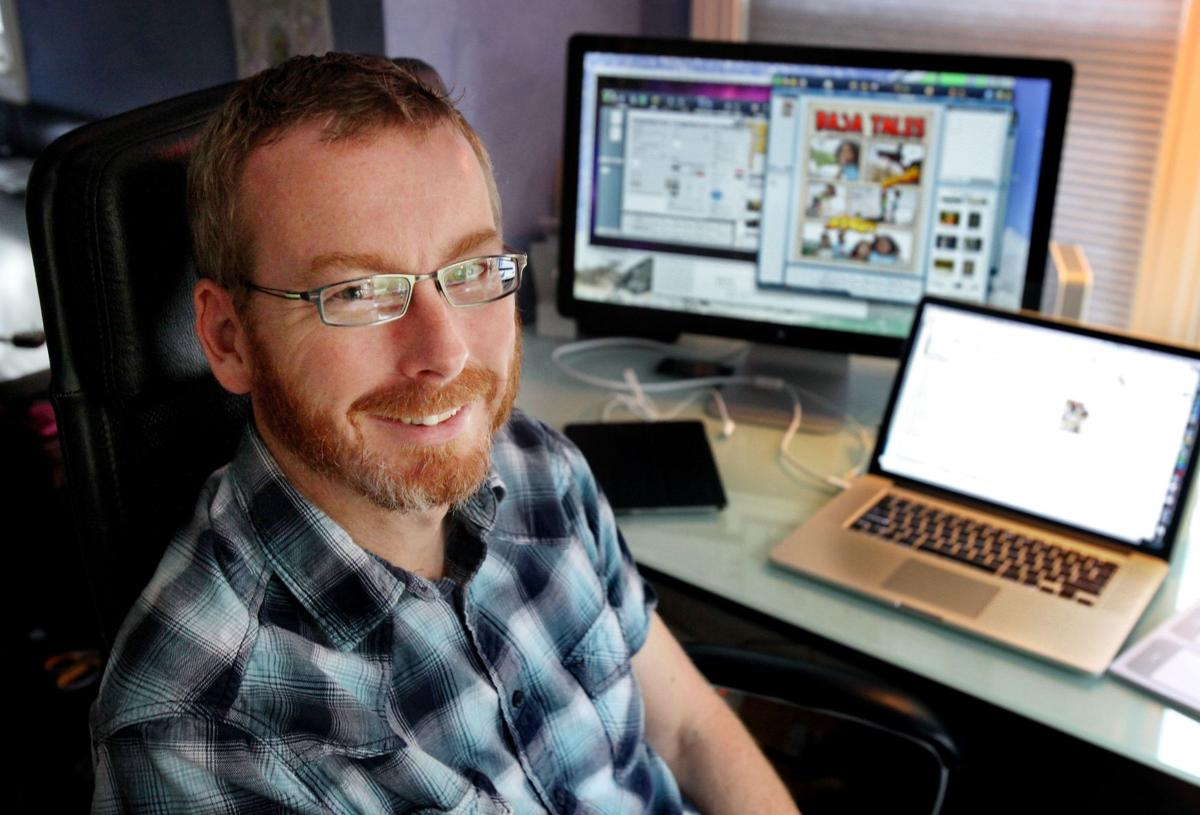 Computing meets comics: Robert Grant's software firm plasq combines photos, funny pages