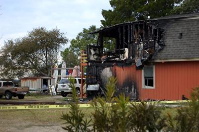 One person found dead after fire on Folly Beach