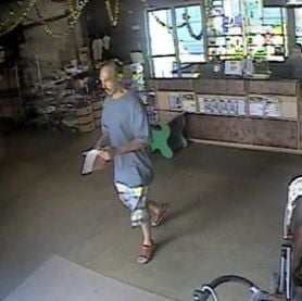 Charleston police searching for man accused of stealing money from children's museum