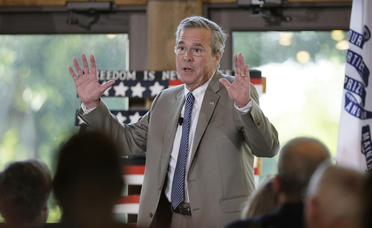 Presidential candidate Jeb Bush visits San Francisco startup
