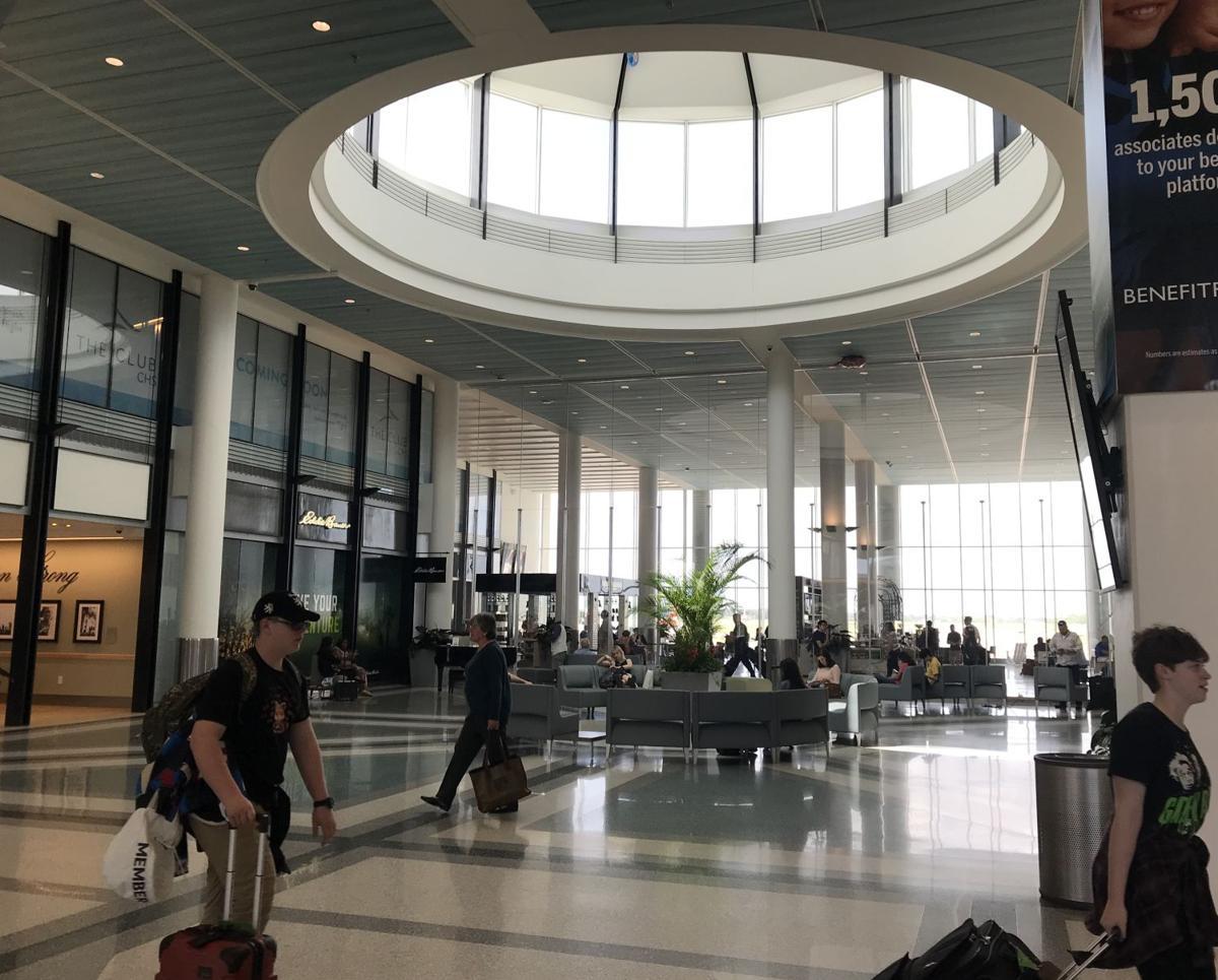 Charleston International Airport atrium