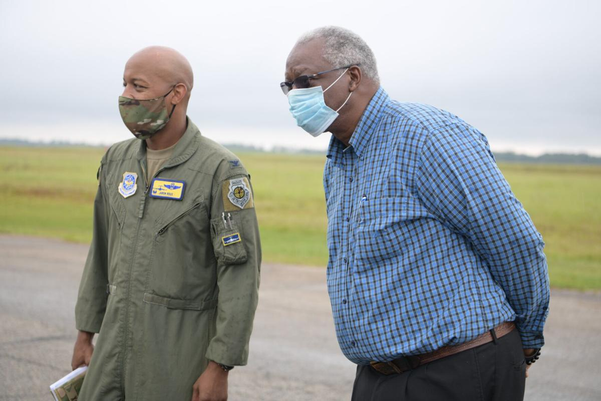 Joint Base Charleston leadership visits North AAF, invites local mayor
