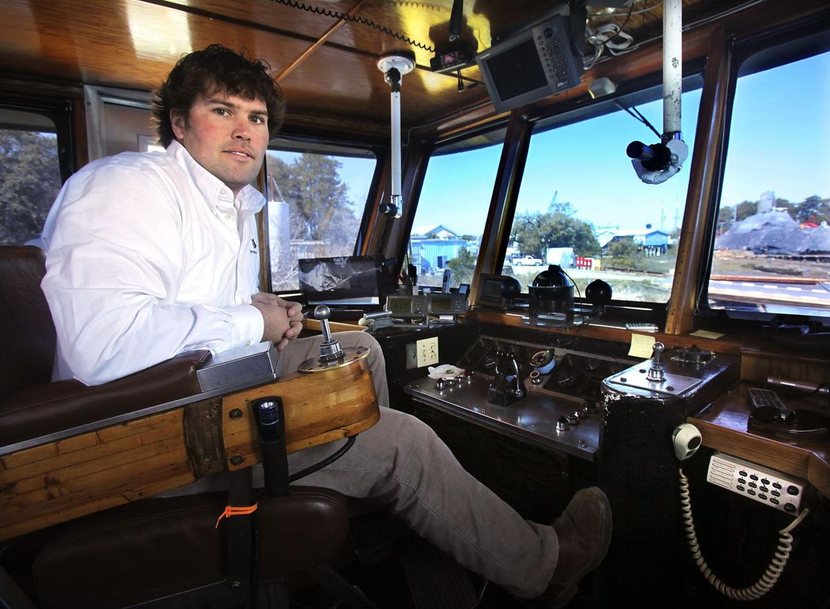 Pulling together Fourth generation takes helm of local maritime towing company