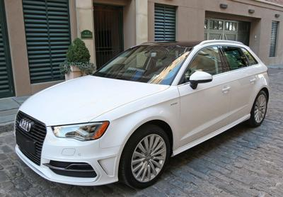 Mega (e-)tron Audi A3 plug-in hatchback a planet-protecting fuel saver that's not short on gas