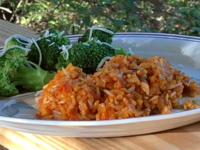 Lee Anne Leland's red rice