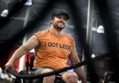 Adam Gorlitsky I Got Legs in gym