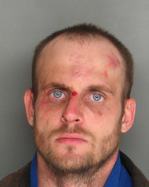 Stabbing suspect accused of assaulting deputy, damaging patrol car