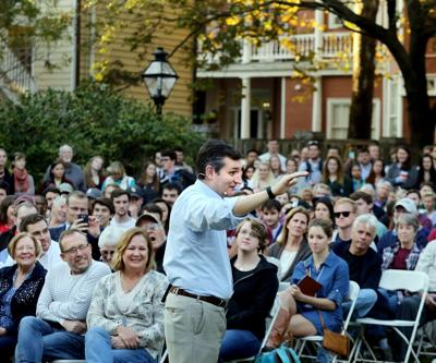 Cruz questions allowing Syrian refugees a path to the U.S. in College of Charleston speech