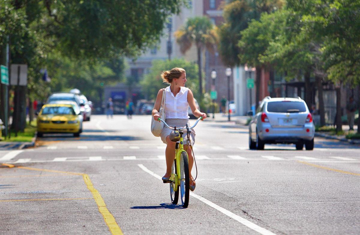 Mobility expert envisions a peninsula more friendly to pedestrians and bicyclists Finding alternatives to I-26