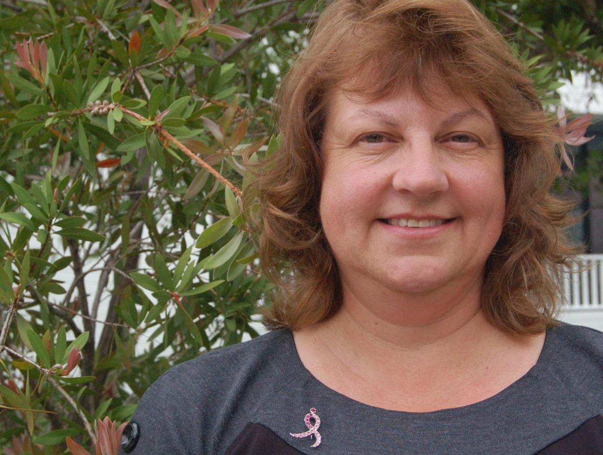 Local breast cancer survivor giving back