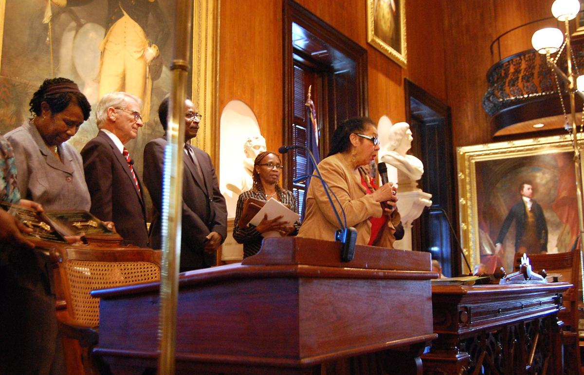 Students who desegregated Charleston schools honored