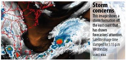 Storm could bring us big waves, rip currents