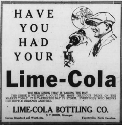 Lime Cola ad