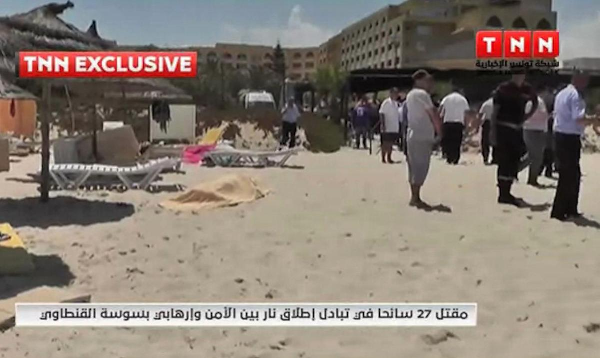 Gunman kills 28 in rampage at Tunisian beach resort