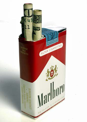 Smokers put in their 62 cents